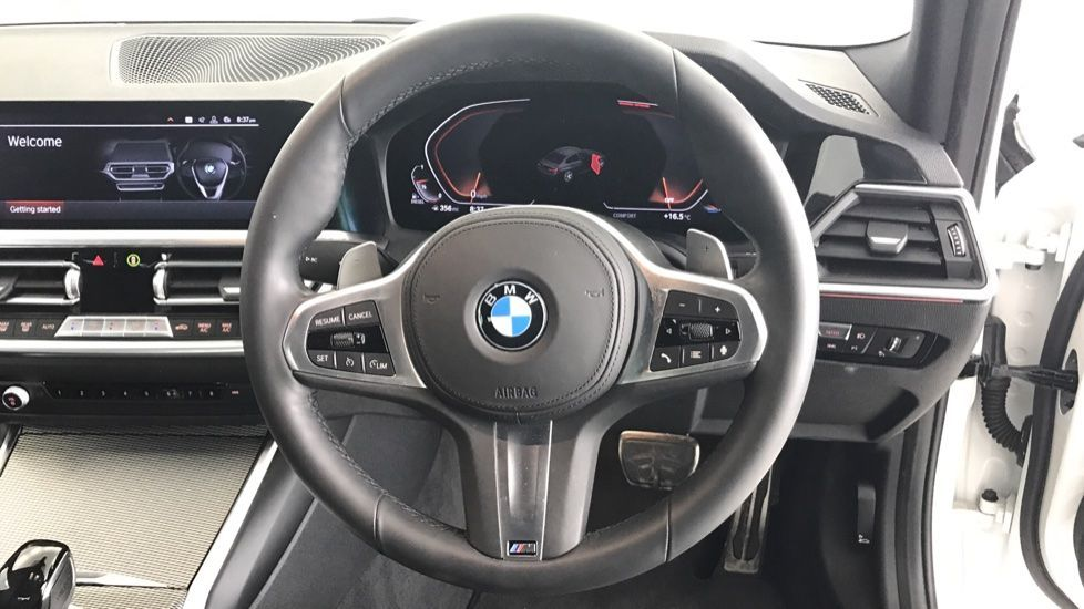 Image 8 - BMW 320d M Sport Saloon (YA69AWP)