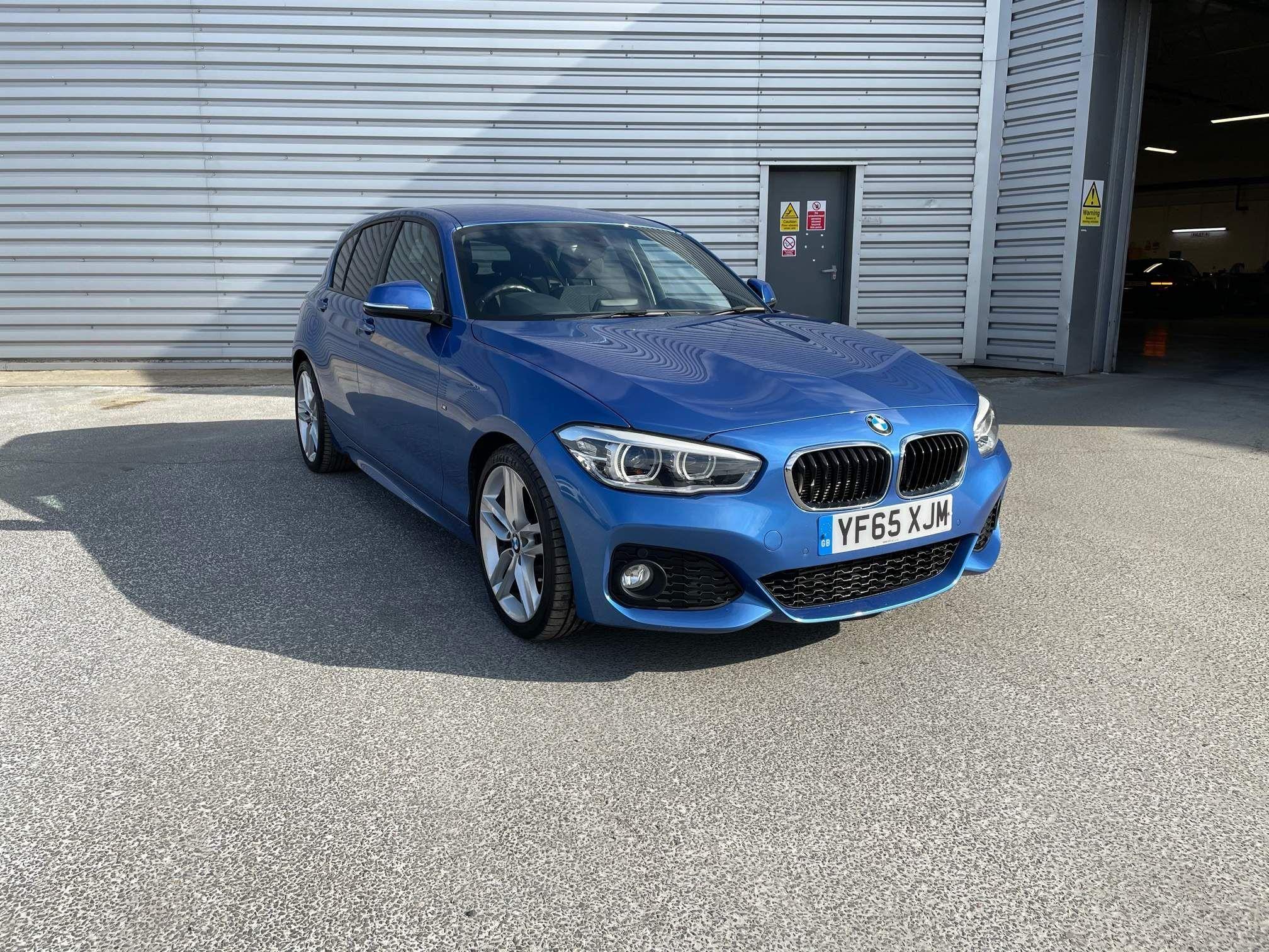 Image 1 - BMW 118d M Sport 5-Door (YF65XJM)