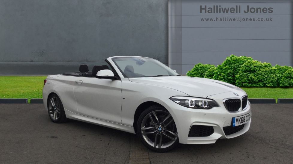 Image 1 - BMW 218i M Sport Convertible (YK68CXD)