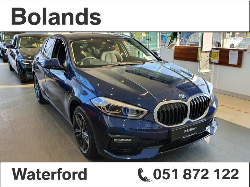 BMW 1 Series 116d Sport 5-Door Hatch BMW Select From €125 Per Week