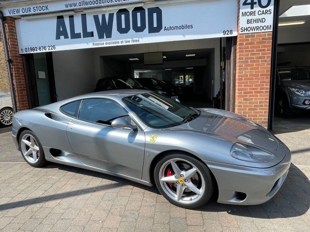 Ferrari 360 Coupe 3.6 Modena F1 2dr