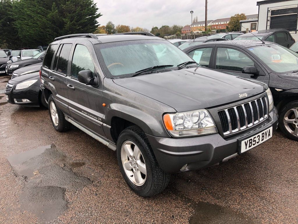 Jeep Grand Cherokee SUV 2.7 CRD Overland 4x4 5dr