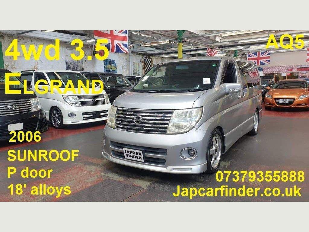 Nissan Elgrand MPV 4WD Highway Star SUNROOF KEYLESS ENTRY