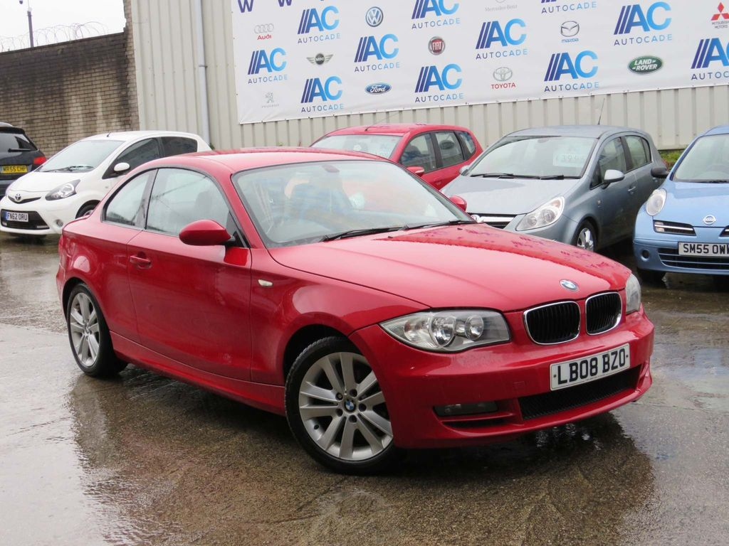 BMW 1 Series Coupe 2.0 120d SE 2dr