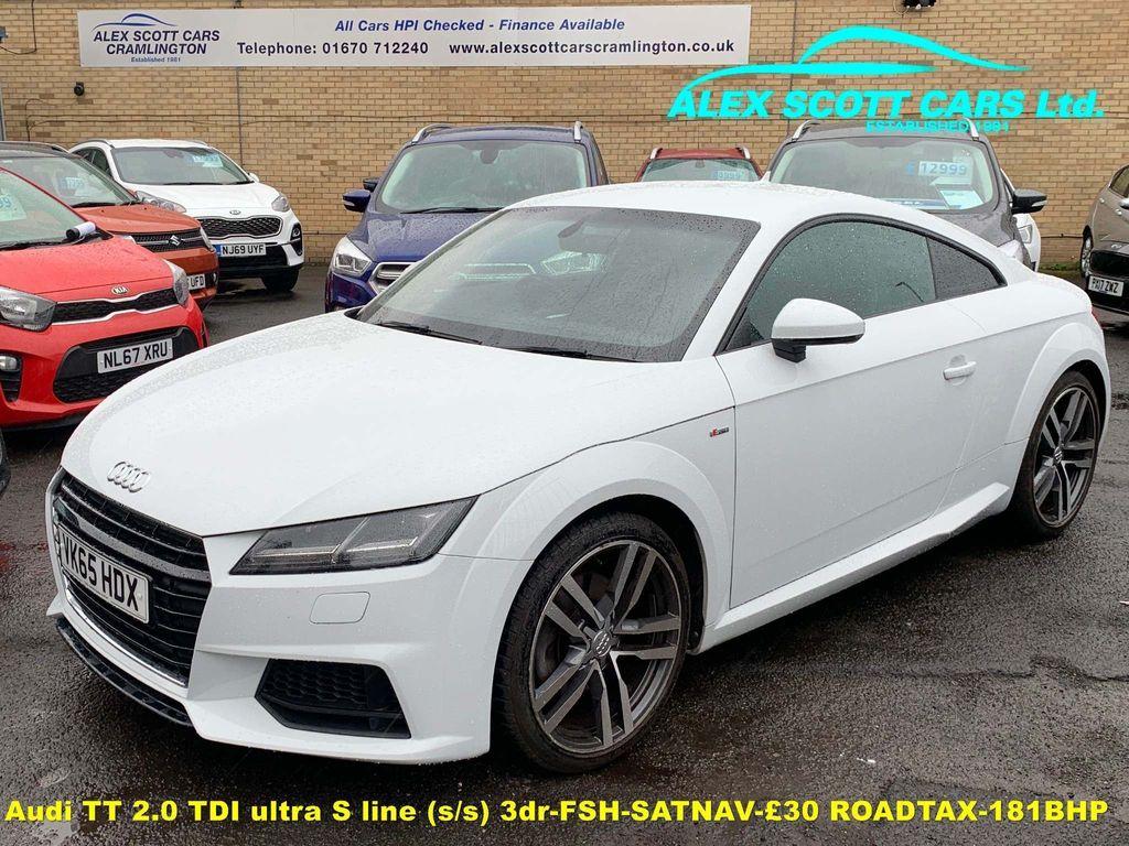 Audi TT Coupe 2.0 TDI ultra S line (s/s) 3dr