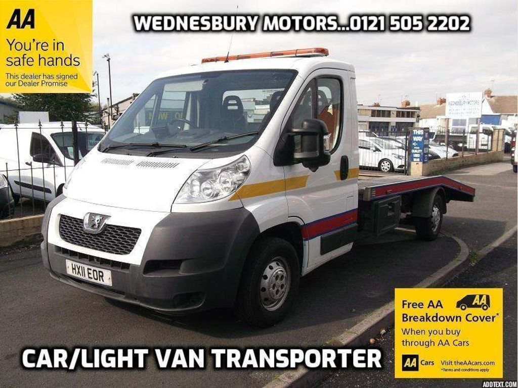 Peugeot Boxer Chassis Cab 2.2HDI 335L3 Car Transporter