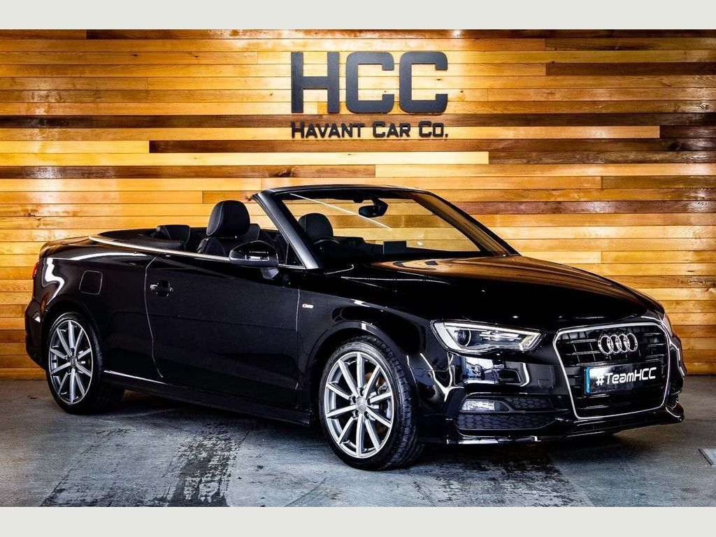 Audi A3 Cabriolet Convertible 1.4 TFSI CoD S line Cabriolet 2dr