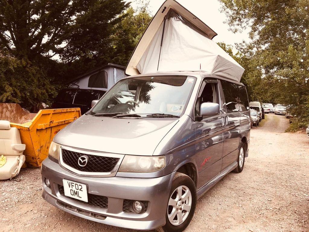 Mazda BONGO POP TOP 4 BERTH JAL FULL CAMPER CONVERSION Campervan PETROL
