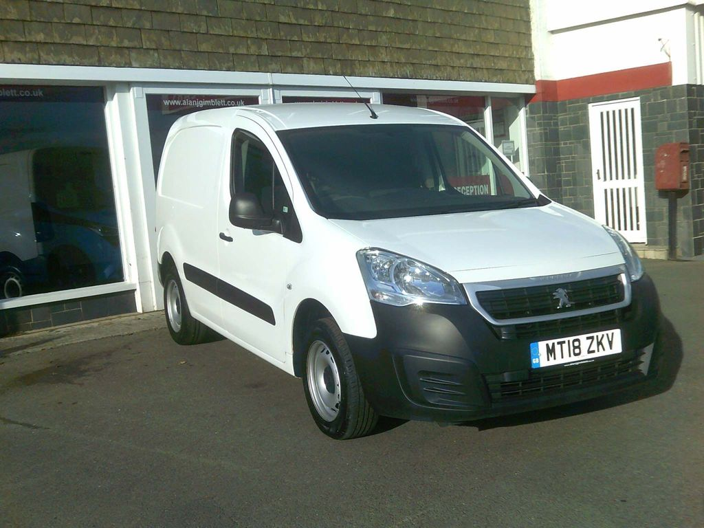 Peugeot Partner Panel Van SE L1 Blue HDI