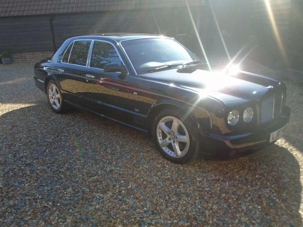 Bentley Arnage Saloon 6.8 T 500 Mulliner 4dr
