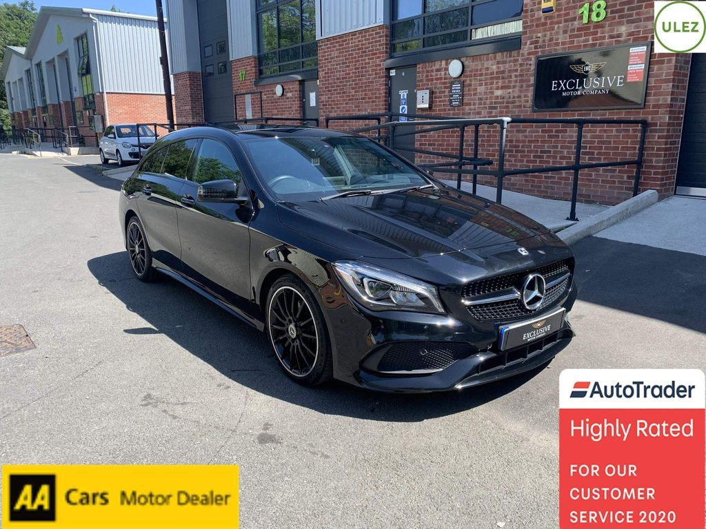 Mercedes-Benz CLA Class Estate 2.0 CLA220 AMG Line Night Edition (Plus) Shooting Brake 7G-DCT 4MATIC (s/s) 5dr