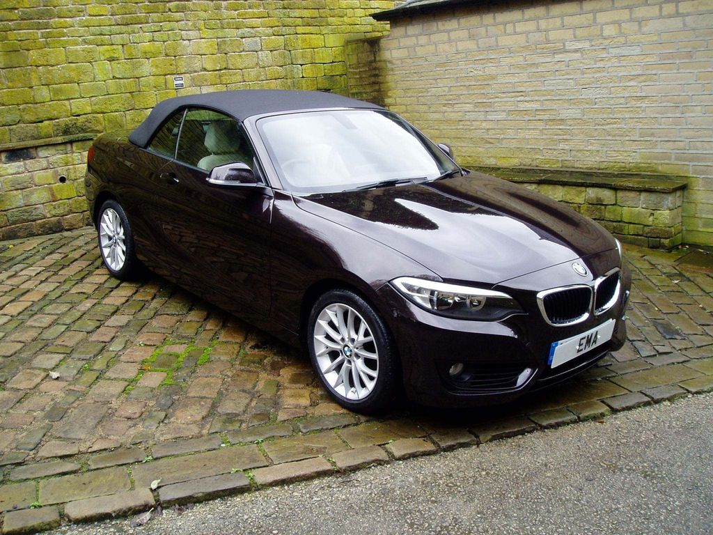 BMW 2 Series Convertible 2.0 218d SE (s/s) 2dr