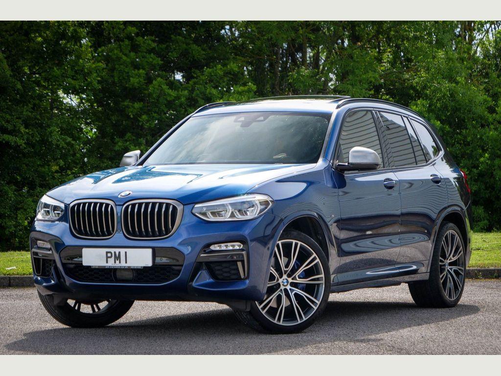 BMW X3 SUV 3.0 M40i Auto xDrive (s/s) 5dr