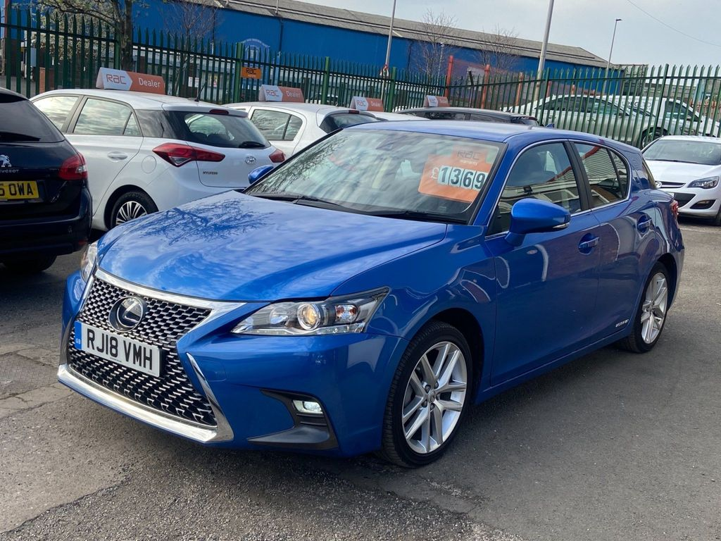 Lexus CT 200h Hatchback 1.8 200h SE (Plus Pack) CVT (s/s) 5dr