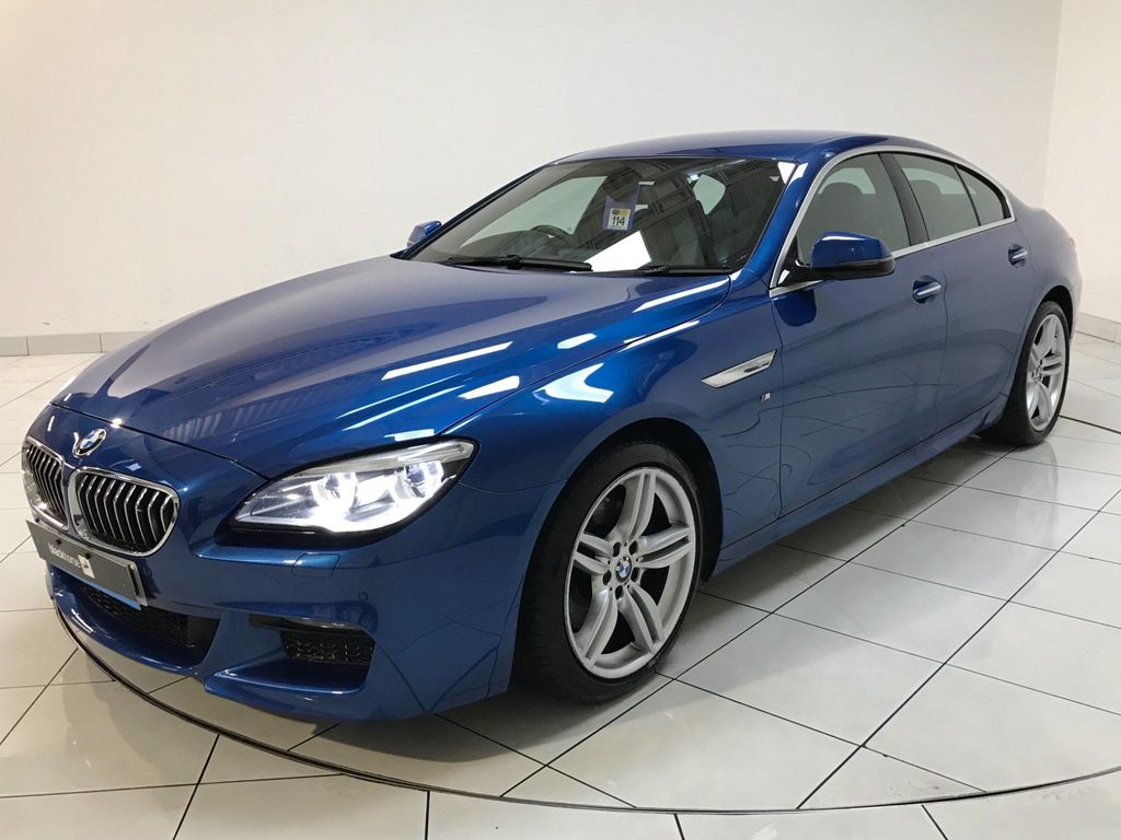 BMW 6 Series Gran Coupe Coupe 3.0 640i M Sport Gran Coupe Auto (s/s) 4dr
