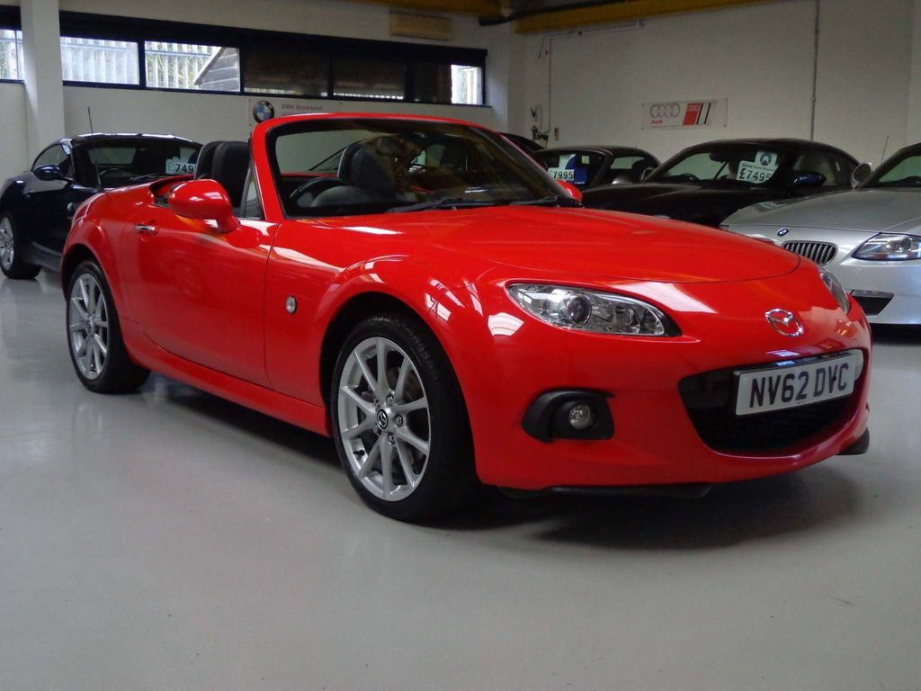 Mazda MX-5 Coupe 2.0 Sport Tech Nav Roadster 2dr