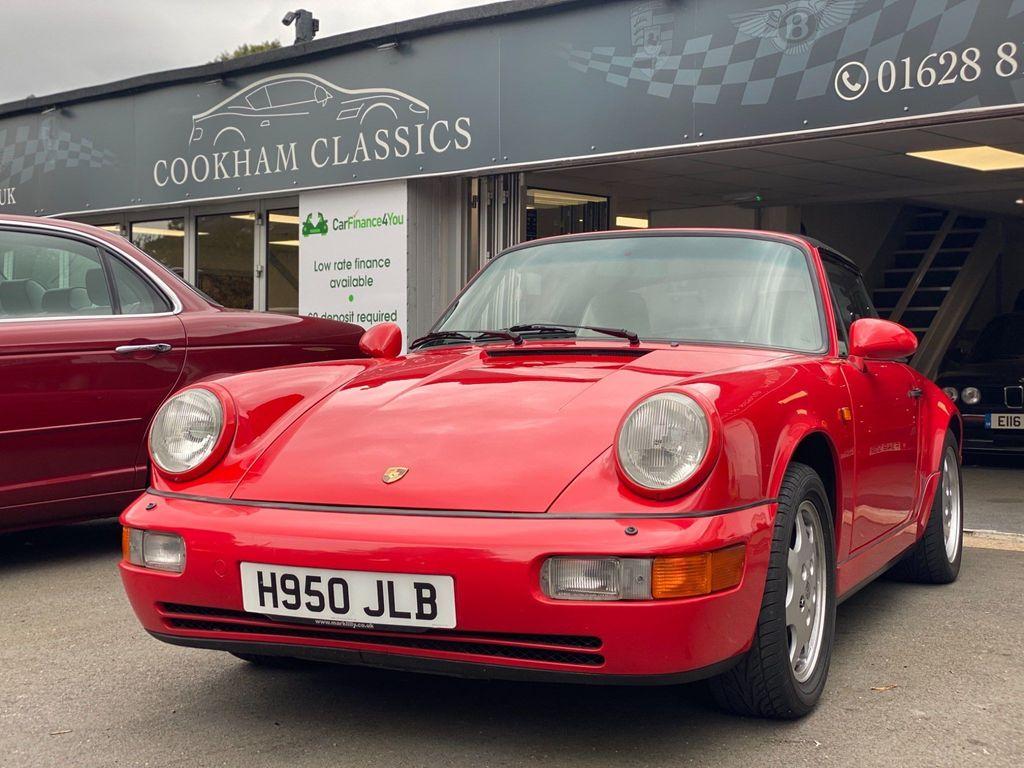 Porsche 911 Convertible 3.6 964 Carrera 2 Cabriolet 2dr