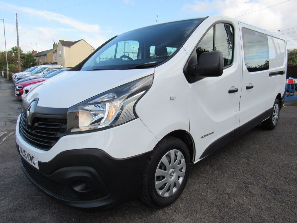 RENAULT TRAFIC Other 1.6 dCi Energy LL29 Business Crew Van 5dr (6 Seats)