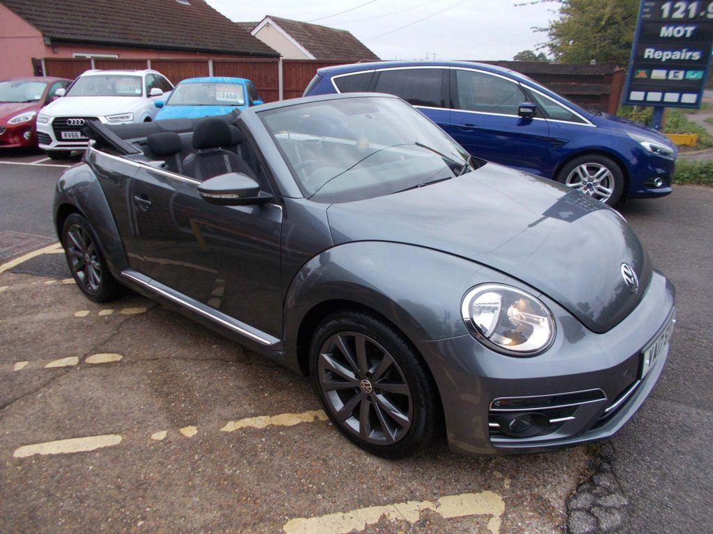 Volkswagen Beetle Convertible 2.0 TDI BlueMotion Tech Design Cabriolet (s/s) 2dr