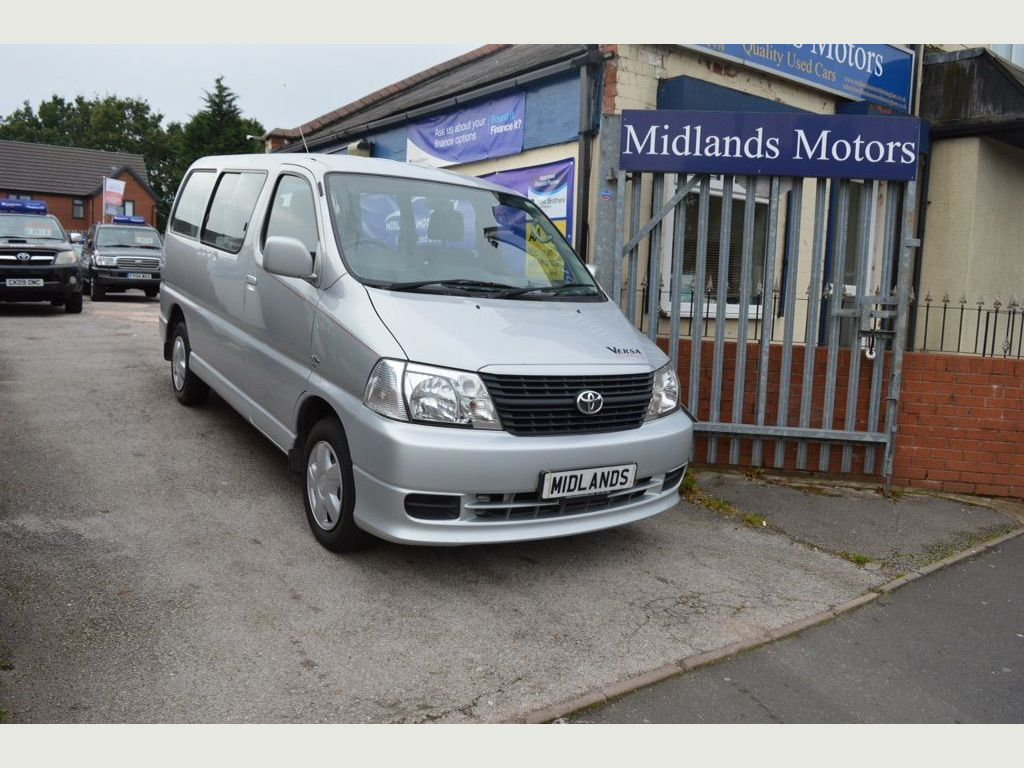 TOYOTA HIACE Unlisted HIACE 250 D-4D 120 DISABLED WHEELCHAIR