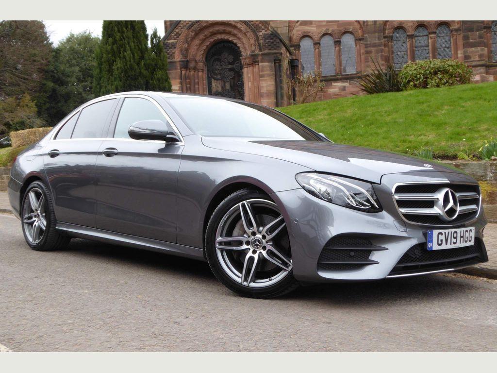 Mercedes-Benz E Class Saloon 2.0 E220d AMG Line Night Edition G-Tronic+ (s/s) 4dr