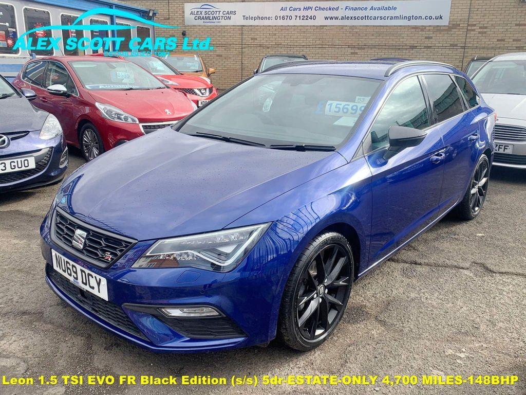 SEAT Leon Estate 1.5 TSI EVO FR Black Edition (s/s) 5dr