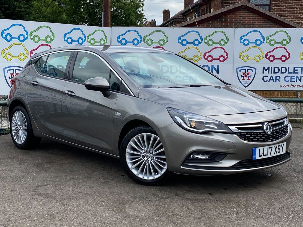 Vauxhall Astra Hatchback 1.6 CDTi BlueInjection Elite Nav (s/s) 5dr