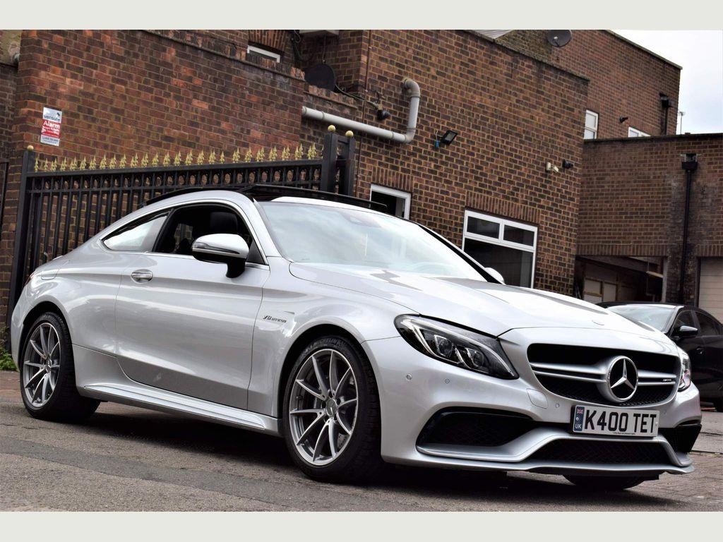 Mercedes-Benz C Class Coupe 4.0 C63 V8 BiTurbo AMG (Premium) SpdS MCT (s/s) 2dr
