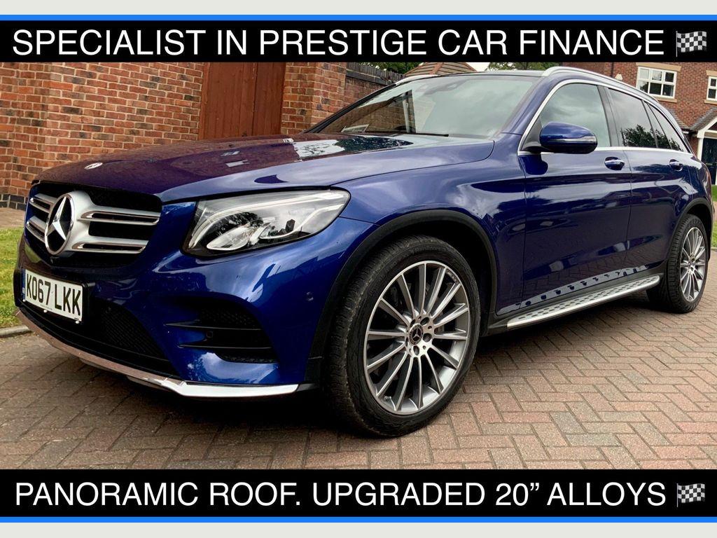Mercedes-Benz GLC Class SUV 3.0 GLC350d V6 AMG Line (Premium) G-Tronic 4MATIC (s/s) 5dr