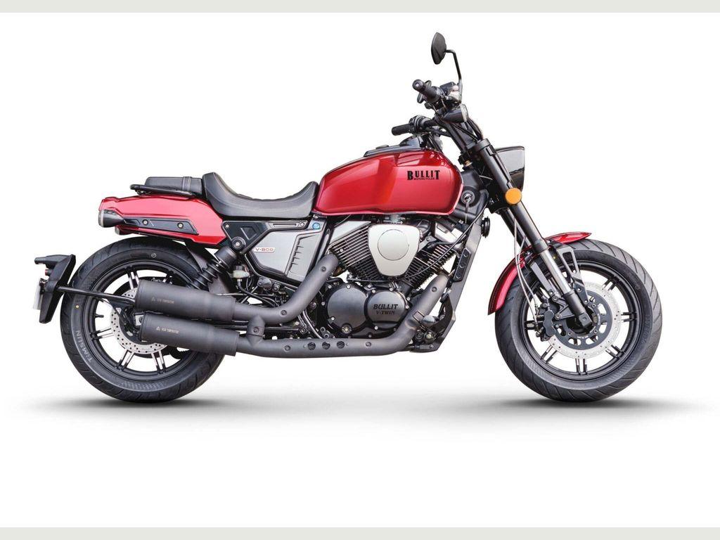 Bullit Motorcycles V-Bob Unlisted