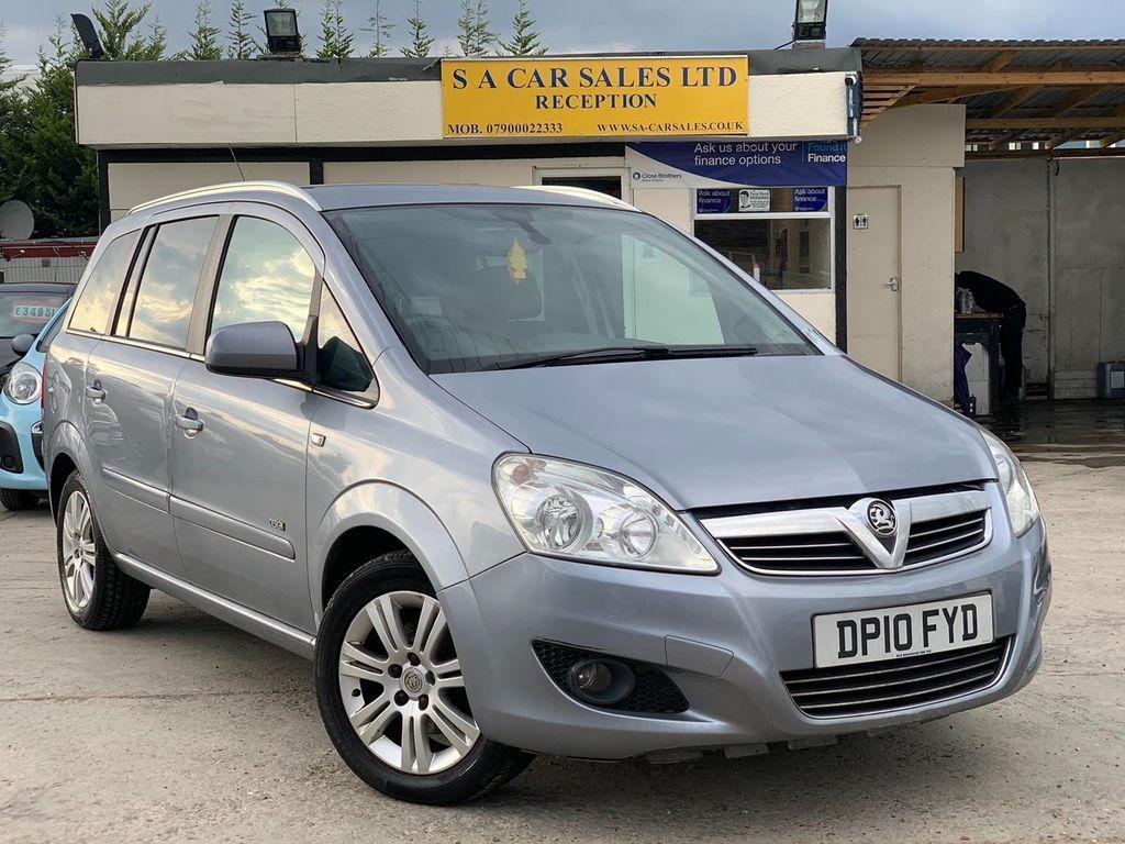 Vauxhall Zafira MPV 1.8 i 16v Design 5dr