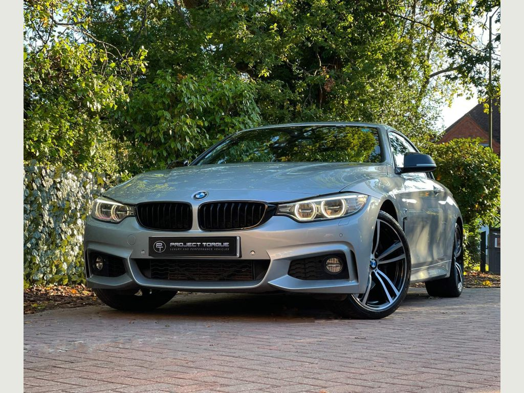 BMW 4 Series Convertible 3.0 435i M Sport Auto (s/s) 2dr