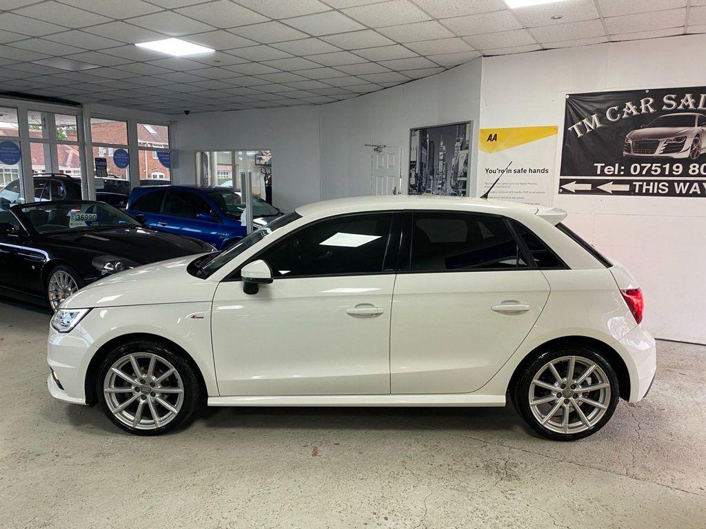 Audi A1 Hatchback 1.0 TFSI S line Sportback S Tronic (s/s) 5dr (Nav)