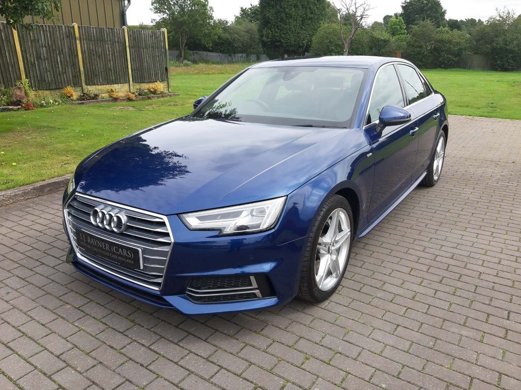 Audi A4 Saloon 2.0 TDI ultra S line S Tronic (s/s) 4dr