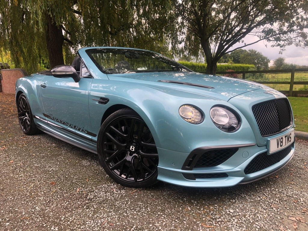 Bentley Continental Convertible 6.0 W12 GTC Supersports Auto 4WD 2dr