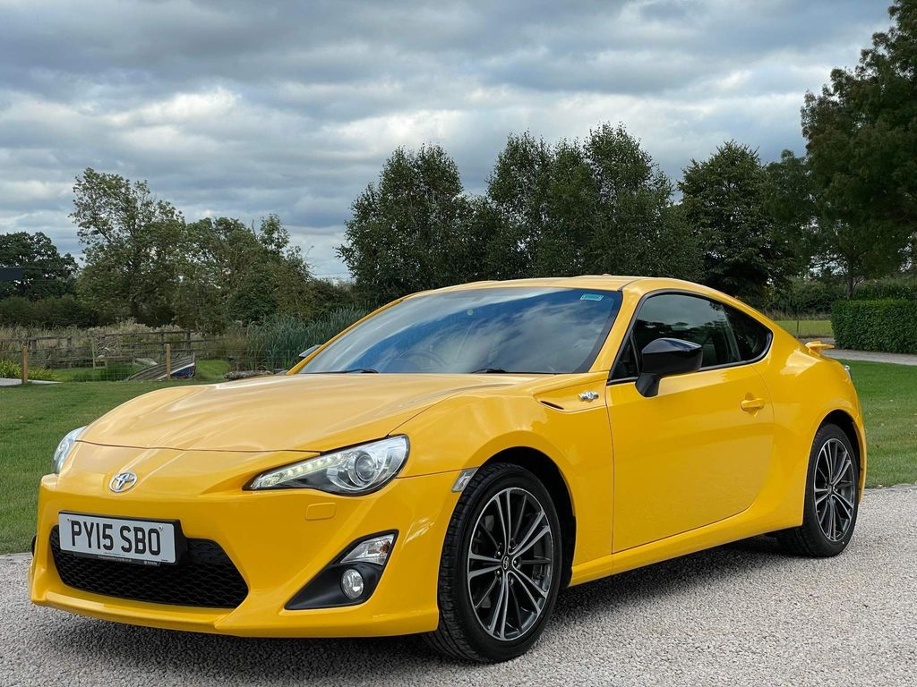 Toyota GT86 Coupe 2.0 D-4S Giallo 2dr