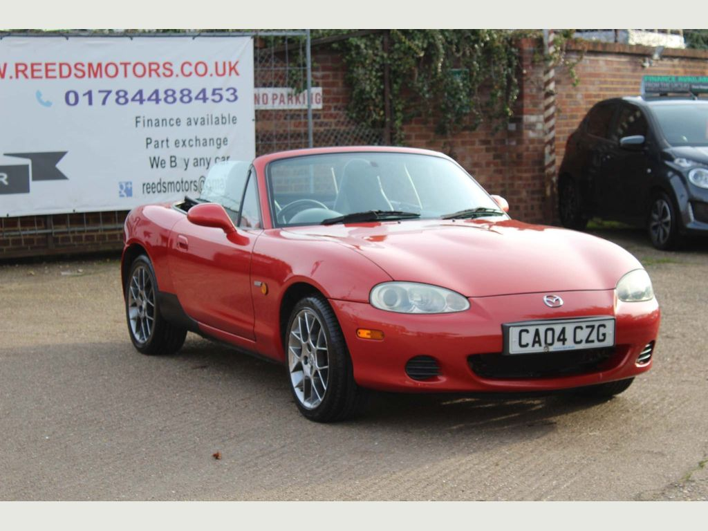 Mazda MX-5 Convertible 1.6 Euphonic Limited Edition 2dr