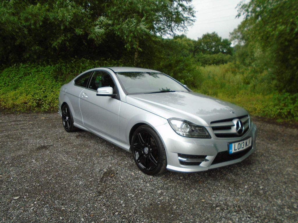 Mercedes-Benz C Class Coupe 2.1 C220 CDI AMG Sport Plus 7G-Tronic Plus 2dr