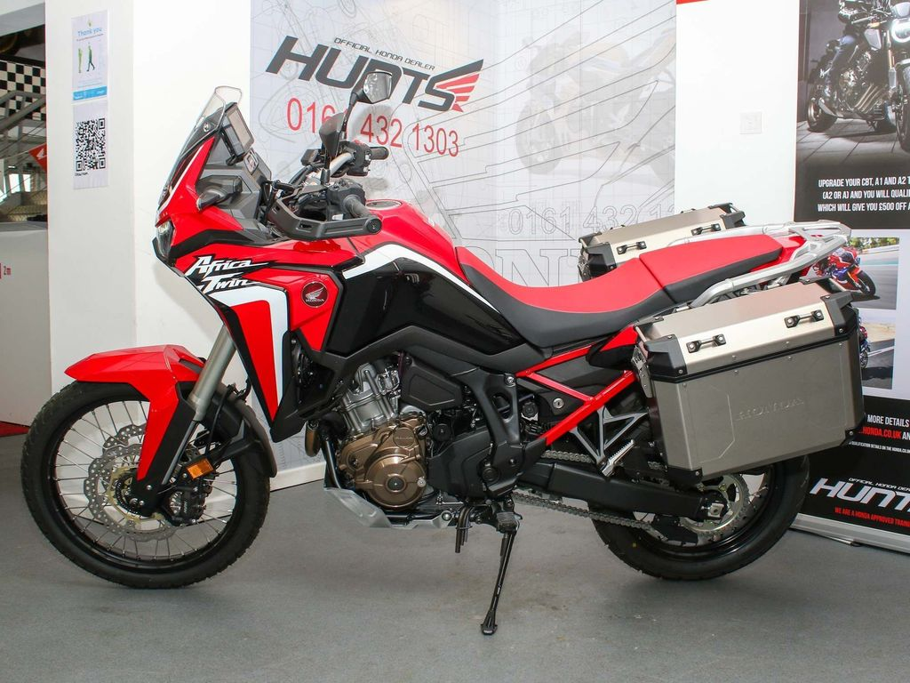 Honda CRF1100L Africa Twin Adventure ABS DCT Grand Prix Red