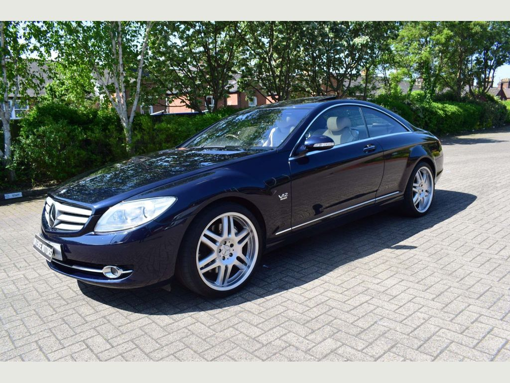 Mercedes-Benz CL Coupe 5.5 CL600 2dr