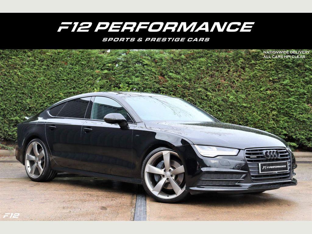 Audi A7 Hatchback 3.0 BiTDI V6 Black Edition Sportback Tiptronic quattro (s/s) 5dr