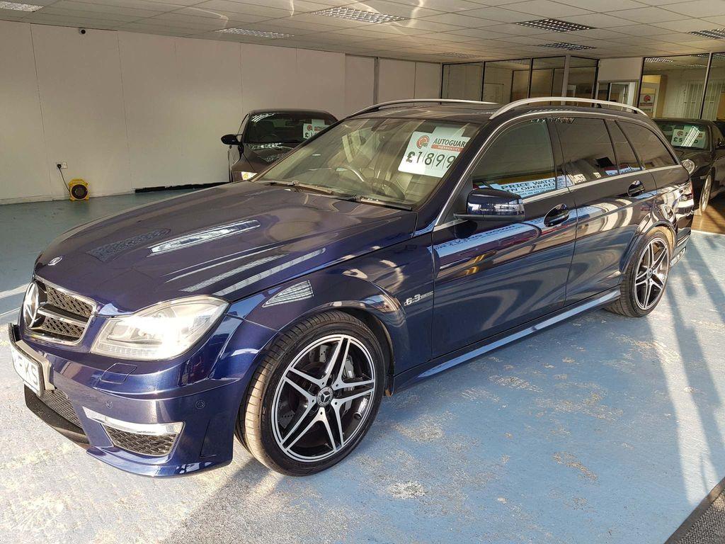 Mercedes-Benz C Class Estate 6.3 C63 AMG MCT 7S 5dr (COMAND)