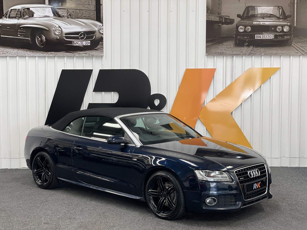 Audi A5 Cabriolet Convertible 3.0 TDI V6 S line Cabriolet S Tronic quattro 2dr