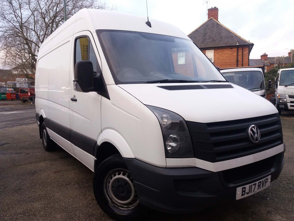 Volkswagen Crafter Panel Van 2.0 TDI BlueMotion Tech (EU6) CR35 High Roof Van 5dr (EU6, MWB)
