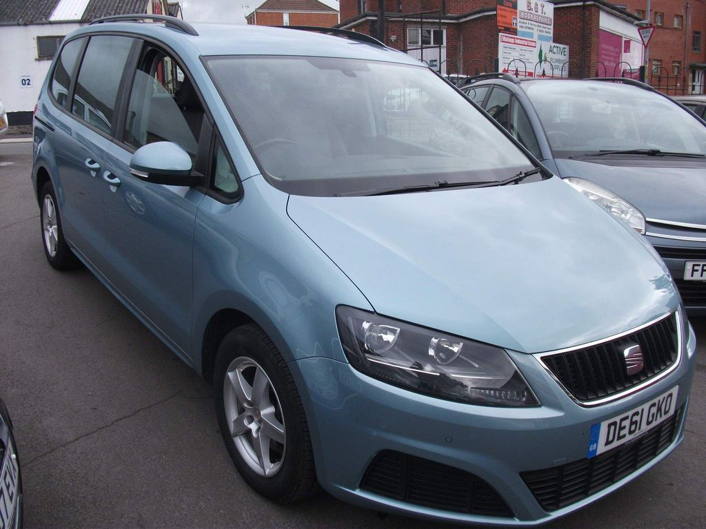 SEAT Alhambra MPV 2.0 TDI CR S DSG 5dr