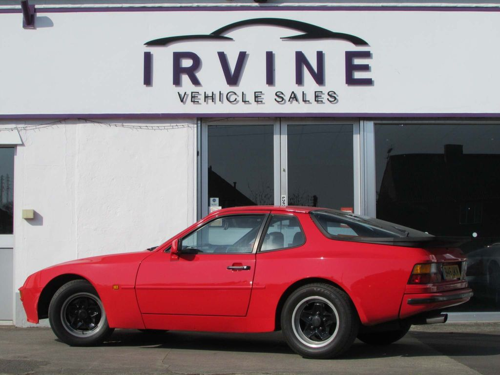 Used Porsche 944 Coupe 2 5 Lux 2dr In Bridgwater Somerset Irvine Vehicle Sales