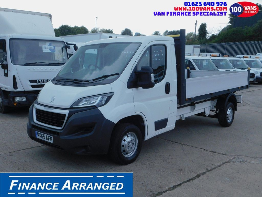 Peugeot Boxer Dropside 2.2HDI 130PS LWB DROPSIDE F/S/H 1 OWNER