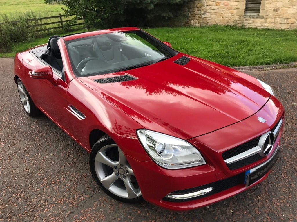 Mercedes-Benz SLK Convertible 1.8 SLK250 BlueEFFICIENCY 7G-Tronic Plus 2dr