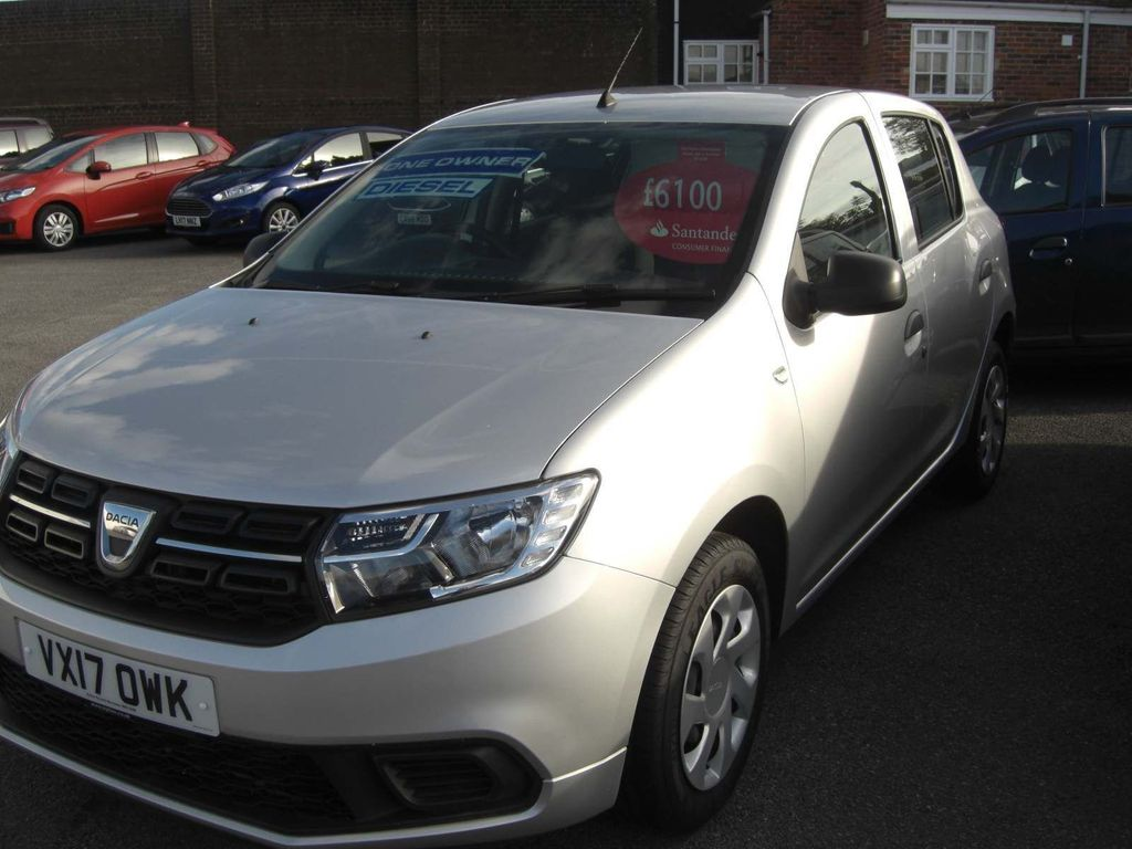 Dacia Sandero Hatchback 1.5 dCi Ambiance (s/s) 5dr