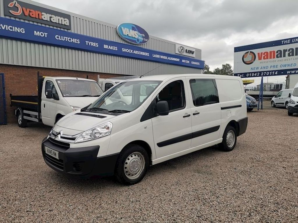 Citroen Dispatch Other 2.0 HDi 1200 L2H1 Crew Van 5dr